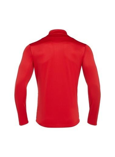 Macron Sweatshirt Kırmızı